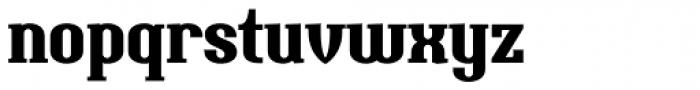 Uranos Bold Font LOWERCASE