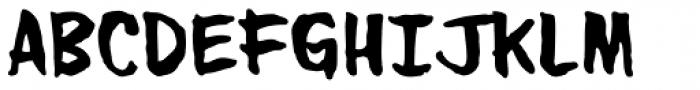 Urban Barbarian Giant Font UPPERCASE