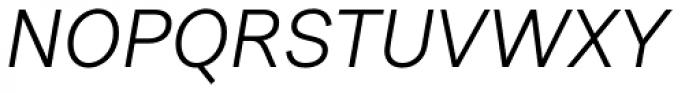Urban Grotesk Italic Font UPPERCASE