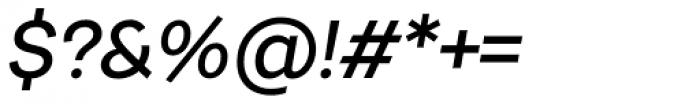 Urban Grotesk SemiBold Italic Font OTHER CHARS
