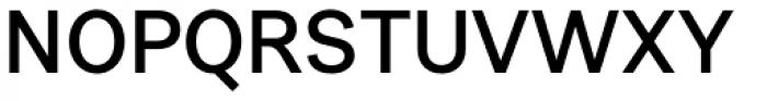 Urban Grotesk SemiBold Font UPPERCASE