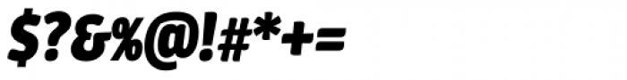 Urbana Bold Italic Font OTHER CHARS