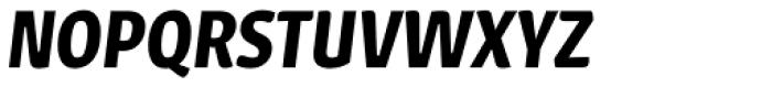 Urbana SemiBold Italic Font UPPERCASE