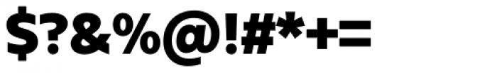 Urbani Black Font OTHER CHARS