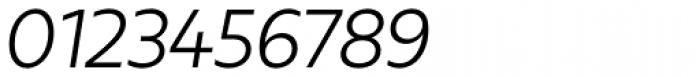 Urbani Book Italic Font OTHER CHARS