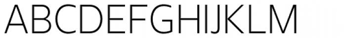 Urbani Light Font UPPERCASE