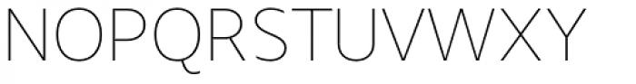 Urbani Thin Font UPPERCASE
