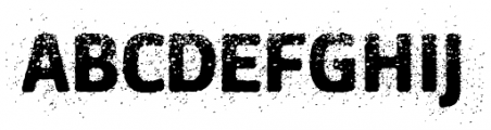 Urbania Font UPPERCASE
