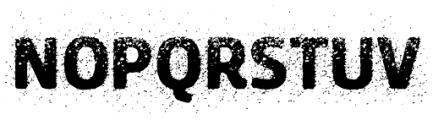Urbania Font LOWERCASE