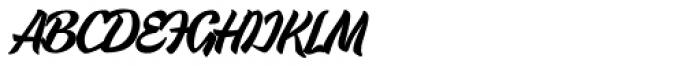 Urbax Font UPPERCASE