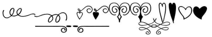 Urbis Ornaments Font LOWERCASE
