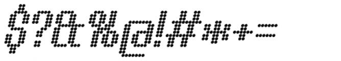 Urbix Nu Dot Italic Font OTHER CHARS