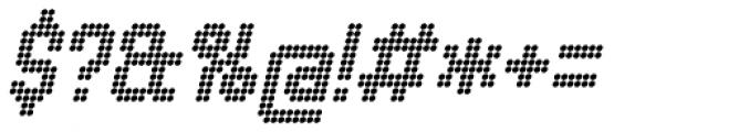 Urbix rg Dot Italic Font OTHER CHARS