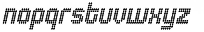 Urbix rg Dot Italic Font LOWERCASE