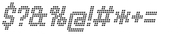 Urbix rg Dot Light Italic Font OTHER CHARS