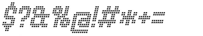 Urbix rg Lcd Light Italic Font OTHER CHARS