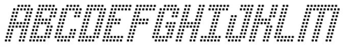 Urbix rg Rsq Light Slanted Font UPPERCASE