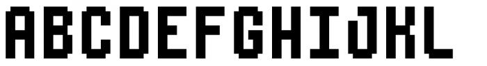 Urbix rg Std 12 Extended Font UPPERCASE