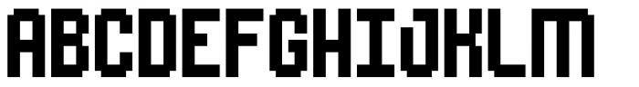 Urbix rg Std 12 Font UPPERCASE