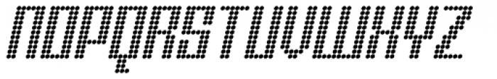 Urbox Nu Dot Italic Font UPPERCASE