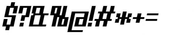 Urbox Nu Std 12 Italic Font OTHER CHARS