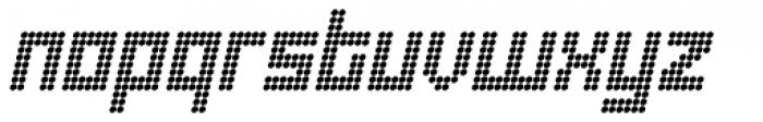 Urbox rg Dot Italic Font LOWERCASE