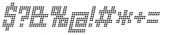 Urbox rg Dot Light Italic Font OTHER CHARS
