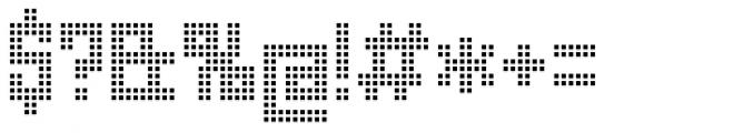 Urbox rg Lcd Light Font OTHER CHARS