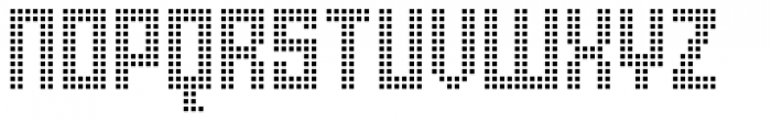 Urbox rg Lcd Light Font UPPERCASE