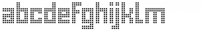 Urbox rg Lcd Light Font LOWERCASE