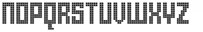 Urbox rg Lcd Font UPPERCASE