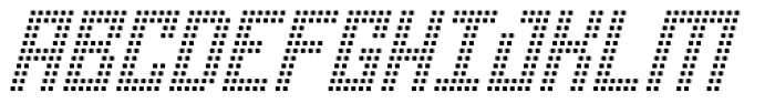 Urbox rg Rsq Light Slanted Font UPPERCASE