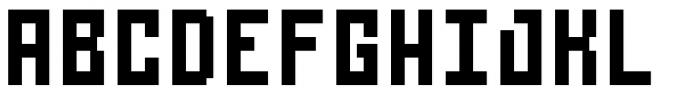 Urbox rg Std 12 Extended Font UPPERCASE