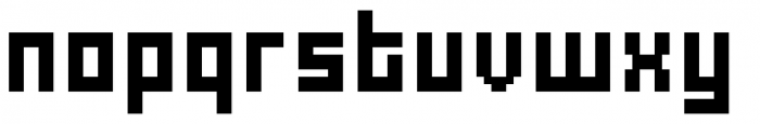 Urbox rg Std 12 Extended Font LOWERCASE