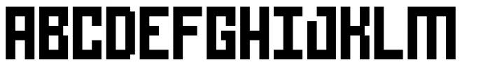 Urbox rg Std 12 Font UPPERCASE