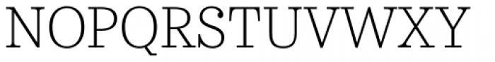 Urge Text ExtraLight Font UPPERCASE
