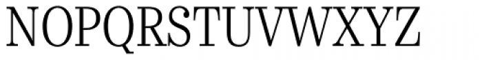 Urge Text Light Condensed Font UPPERCASE
