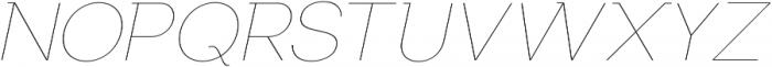 US Bilko otf (100) Font UPPERCASE