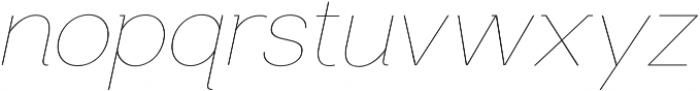 US Bilko otf (100) Font LOWERCASE