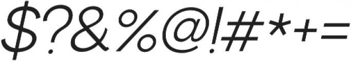 US Bilko otf (400) Font OTHER CHARS