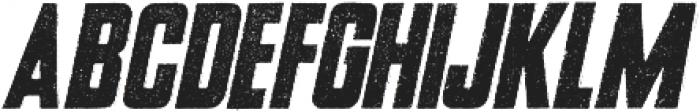 USKOK Italic otf (400) Font UPPERCASE