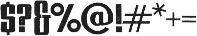 USKOK Regular otf (400) Font OTHER CHARS