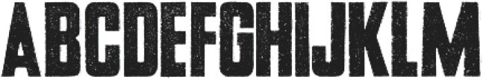 USKOK Regular otf (400) Font LOWERCASE