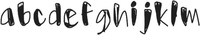 Usumi otf (400) Font LOWERCASE