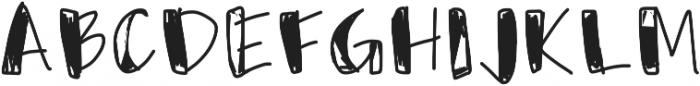 Usumi ttf (400) Font UPPERCASE