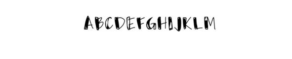 Usumi Font UPPERCASE
