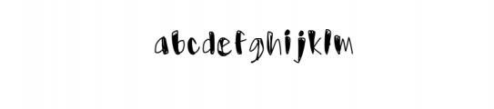 Usumi Font LOWERCASE