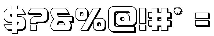 USAngel 3D Font OTHER CHARS
