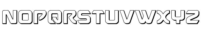 USAngel 3D Font UPPERCASE