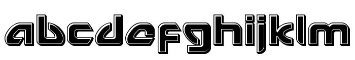 USAngel Bevel Font LOWERCASE